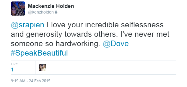 #Dove Encourages Kind Words on Social Media via the #SpeakBeautiful Campaign for a #SocialWin
